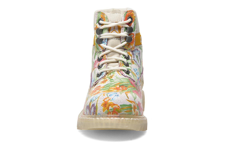 Bottines et boots Caterpillar Colorado Flowers Multicolore vue portées chaussures