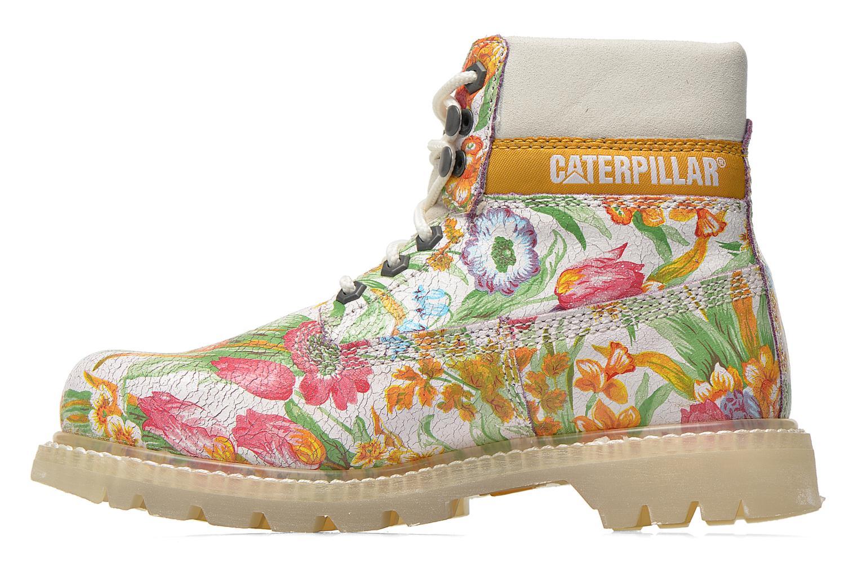Bottines et boots Caterpillar Colorado Flowers Multicolore vue face