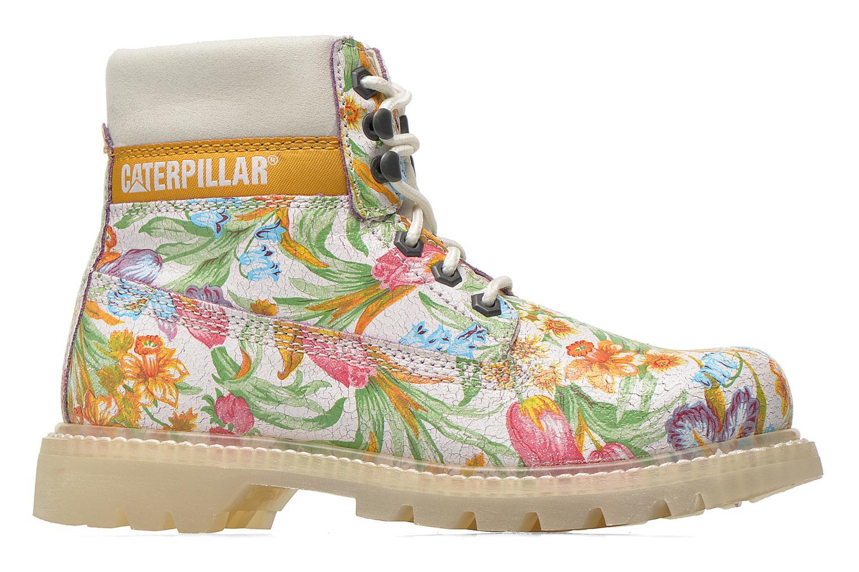 Bottines et boots Caterpillar Colorado Flowers Multicolore vue derrière