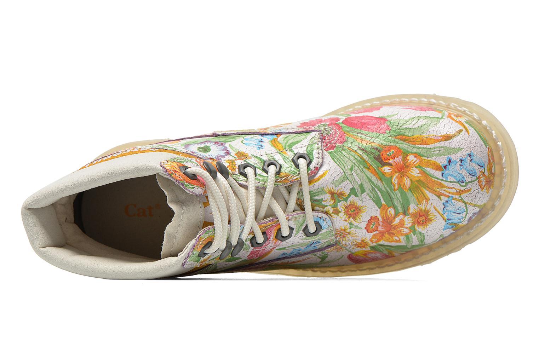 Bottines et boots Caterpillar Colorado Flowers Multicolore vue gauche