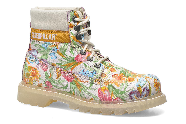 Bottines et boots Caterpillar Colorado Flowers Multicolore vue détail/paire