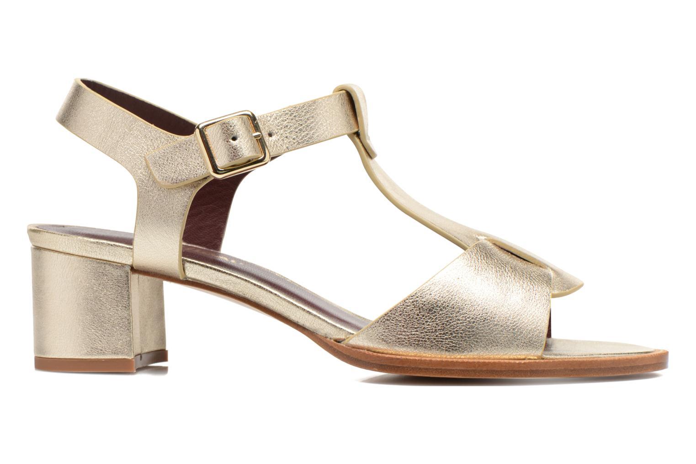 Sandales et nu-pieds Avril Gau Paty Or et bronze vue derrière