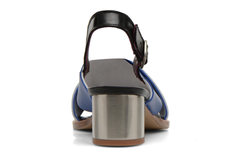 Sandales et nu-pieds Avril Gau Uba Multicolore vue droite