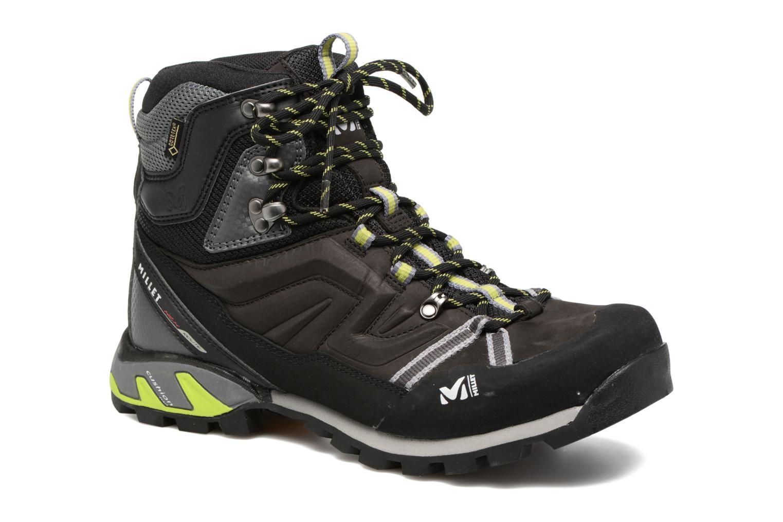 Zapatillas de deporte Millet High Route GTX Negro vista de detalle / par
