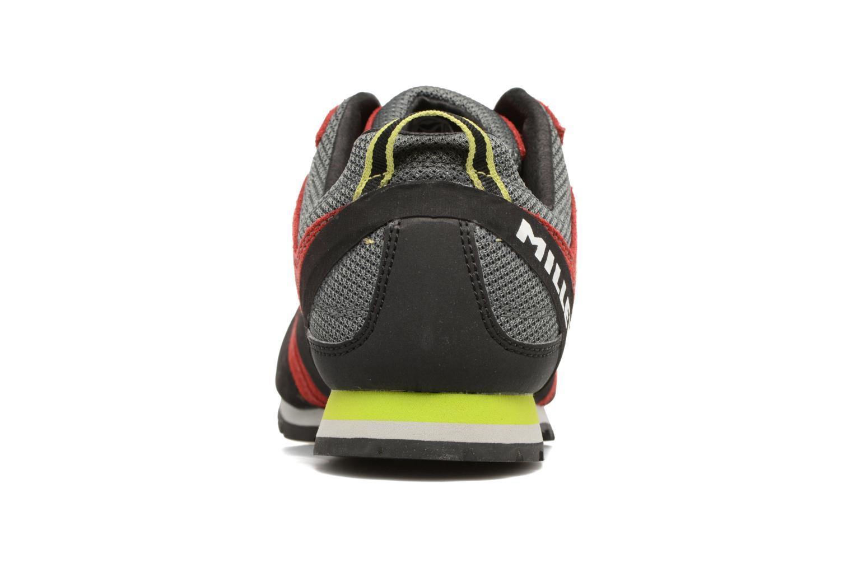 Chaussures de sport Millet Rockway Rouge vue droite