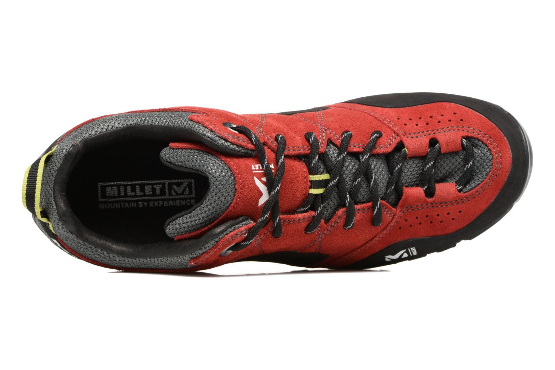 Chaussures de sport Millet Rockway Rouge vue gauche