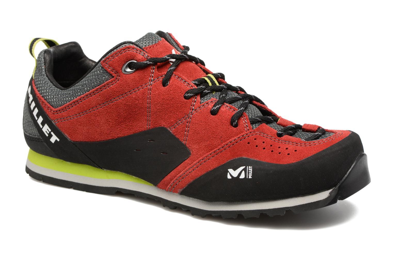 Chaussures de sport Millet Rockway Rouge vue détail/paire