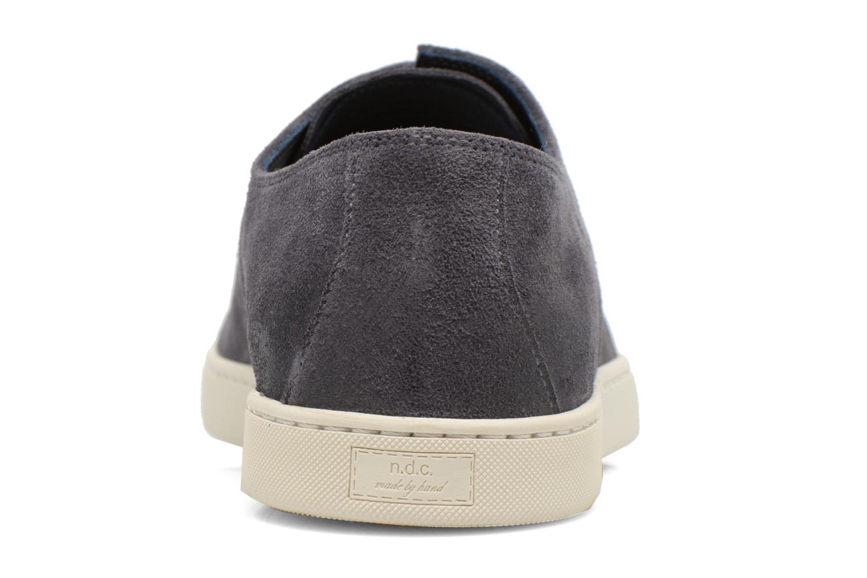 Zapatos con cordones n.d.c Ruben softy Gris vista lateral derecha