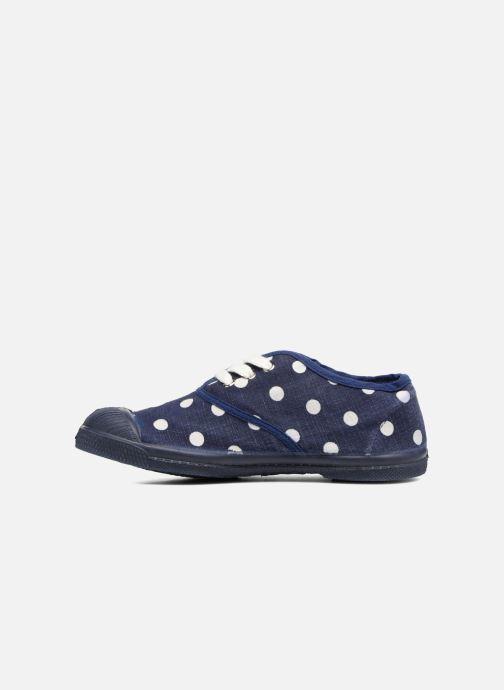 Sneakers Bensimon Tennis Lacets Pastel Pastilles E Azzurro immagine frontale