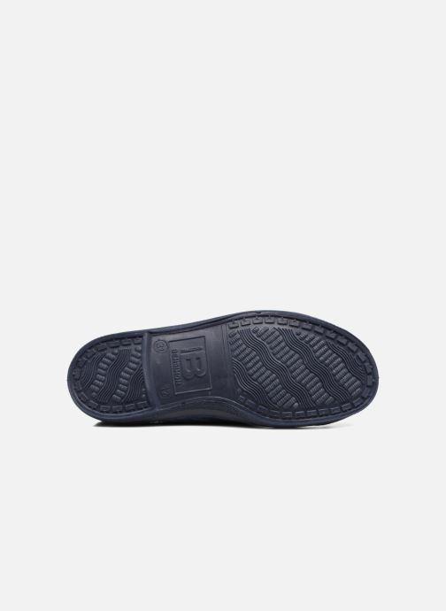 Sneakers Bensimon Tennis Lacets Pastel Pastilles E Azzurro immagine dall'alto