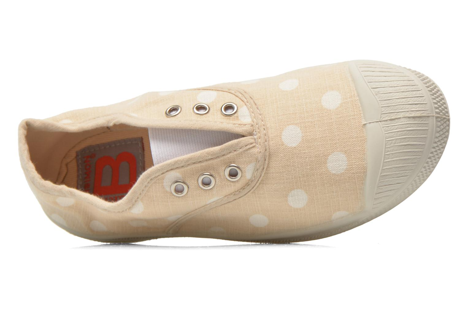 Sneakers Bensimon Tennis Elly Pastel Pastilles E Beige immagine sinistra