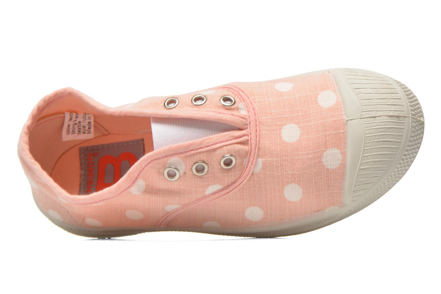 Sneakers Bensimon Tennis Elly Pastel Pastilles E Rosa immagine sinistra