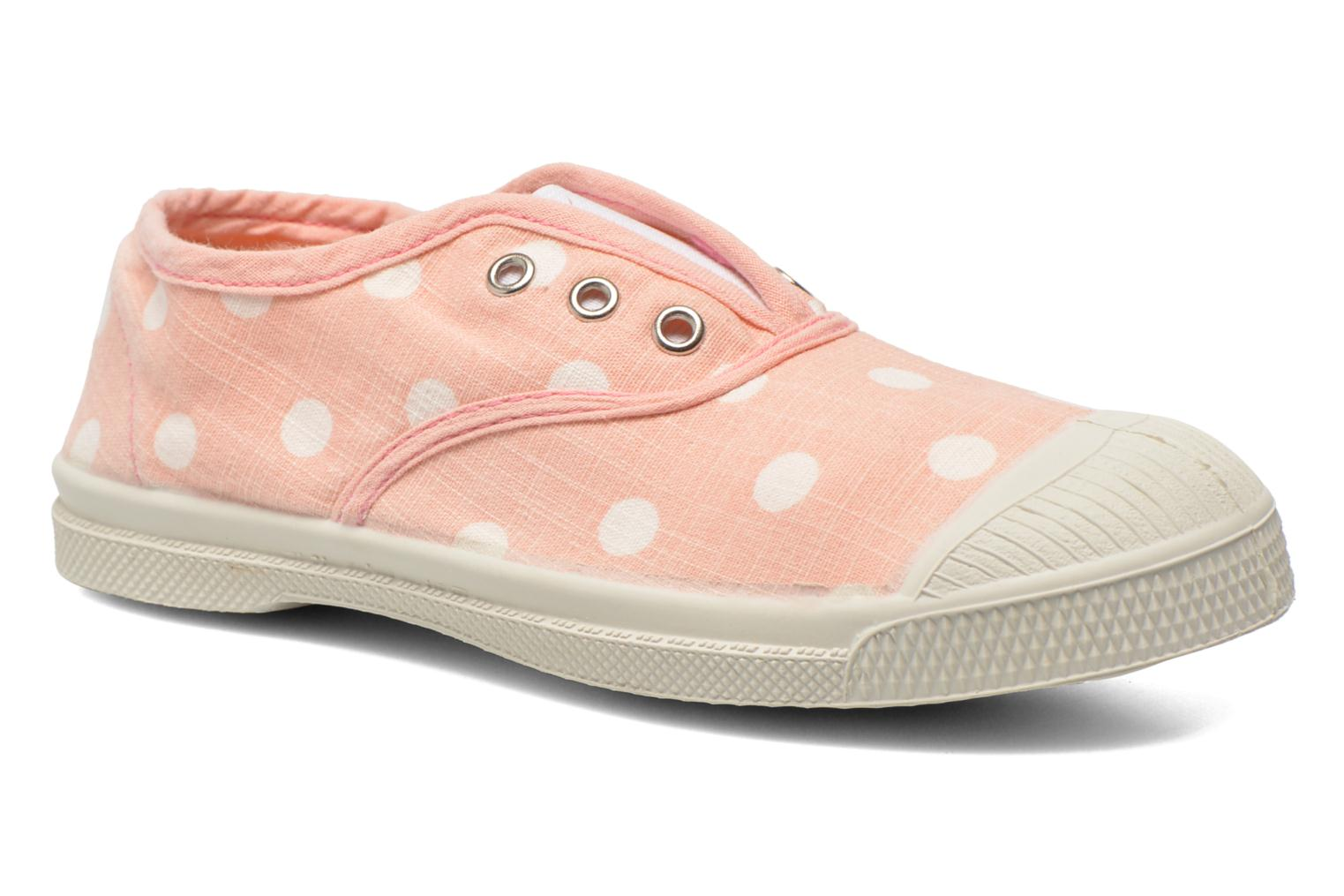 Trainers Bensimon Tennis Elly Pastel Pastilles E Pink detailed view/ Pair view