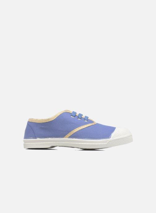 Sneakers Bensimon Tennis Lacets Shinypiping E Azzurro immagine posteriore