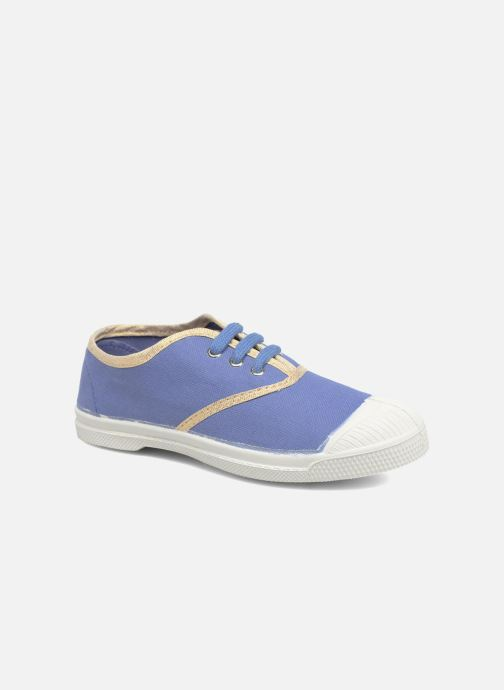 Sneakers Bensimon Tennis Lacets Shinypiping E Azzurro vedi dettaglio/paio