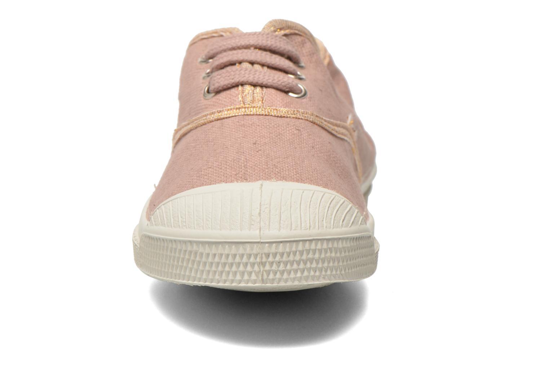 Sneaker Bensimon Tennis Lacets Shinypiping E rosa schuhe getragen