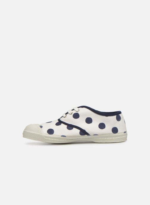 Baskets Bensimon Tennis Pois E Blanc vue face