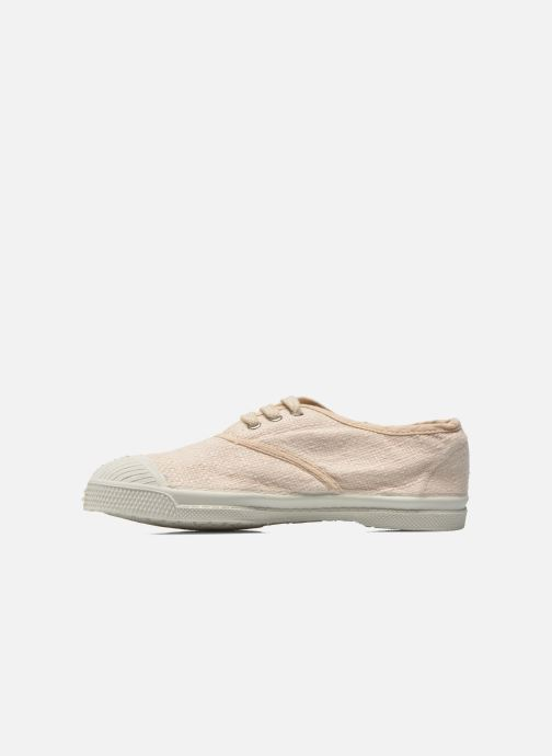 Baskets Bensimon Tennis Lin E Beige vue face
