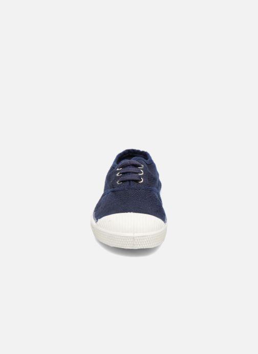 Baskets Bensimon Tennis Lin E Bleu vue portées chaussures
