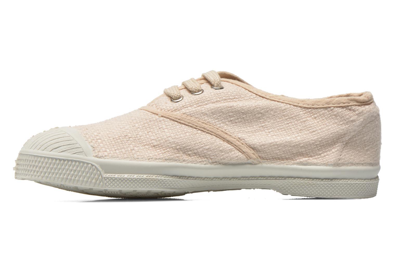 Sneakers Bensimon Tennis Lin E Beige voorkant