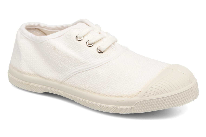 Sneakers Bensimon Tennis Lin E Hvid detaljeret billede af skoene