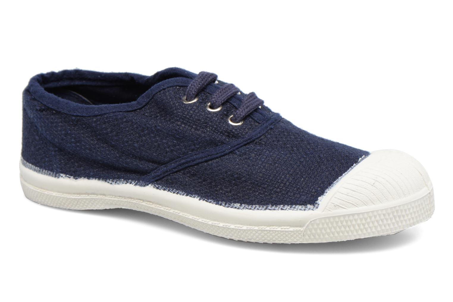 Trainers Bensimon Tennis Lin E Blue detailed view/ Pair view