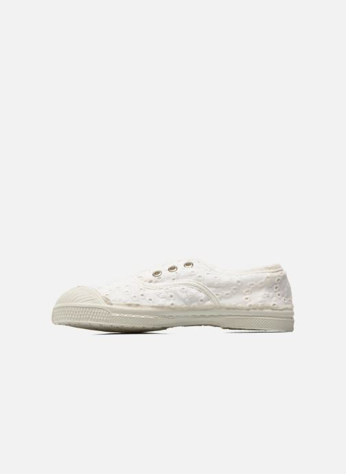 Sneakers Bensimon Tennis Elly Broderie Anglaise E Bianco immagine frontale