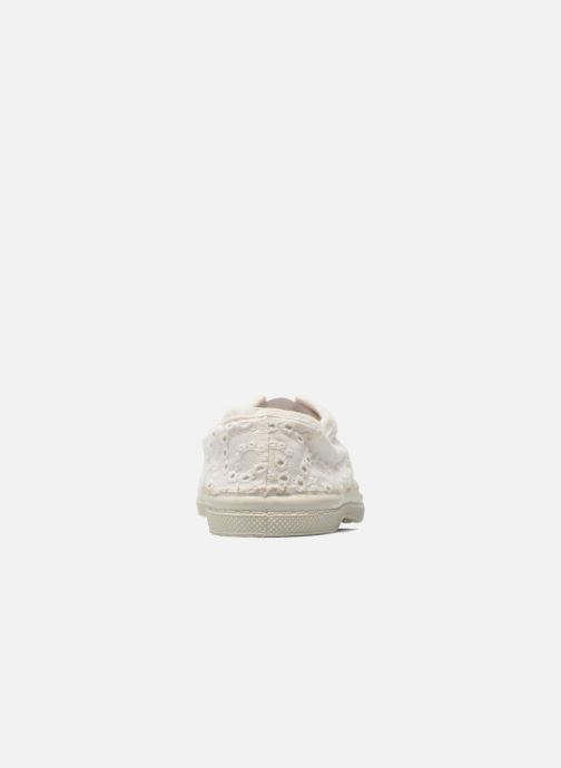 Sneakers Bensimon Tennis Elly Broderie Anglaise E Bianco immagine destra