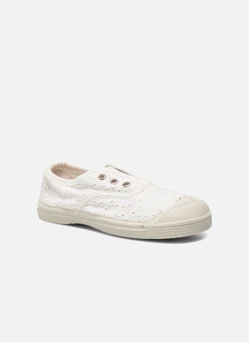 Sneakers Bensimon Tennis Elly Broderie Anglaise E Bianco vedi dettaglio/paio