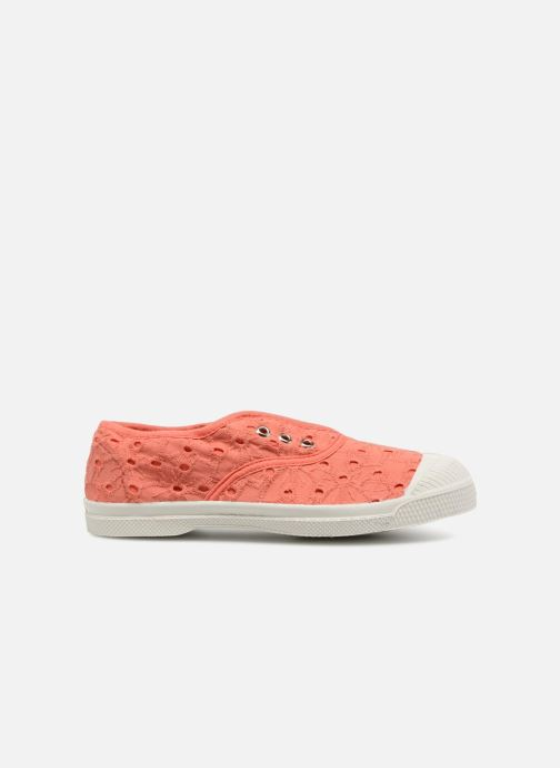 Baskets Bensimon Tennis Elly Broderie Anglaise E Orange vue derrière