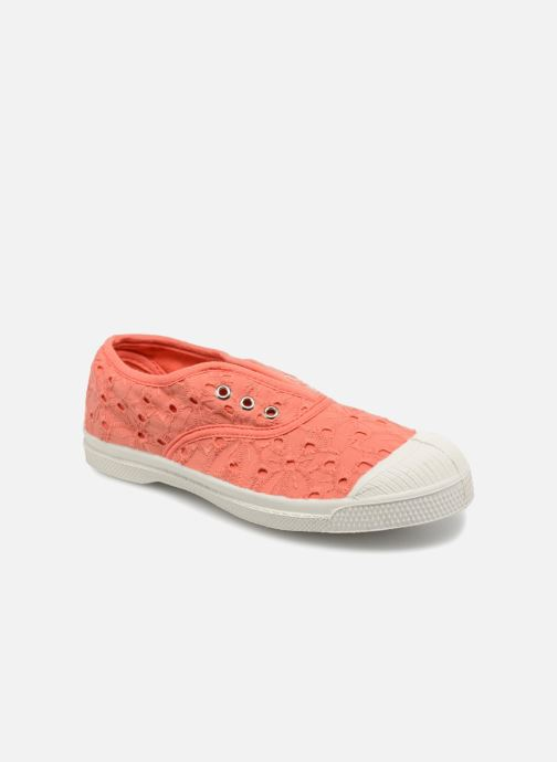 Baskets Bensimon Tennis Elly Broderie Anglaise E Orange vue détail/paire