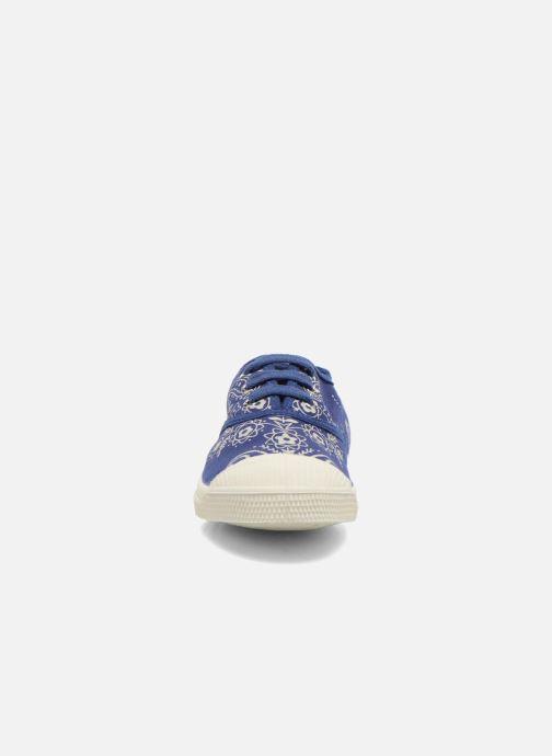 Sneakers Bensimon Tennis Bandana E Azzurro modello indossato