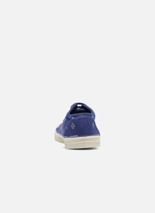 Sneakers Bensimon Tennis Bandana E Azzurro immagine destra