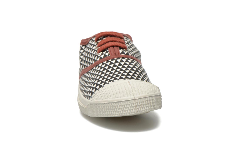 Baskets Bensimon Tennis Milk E Noir vue portées chaussures
