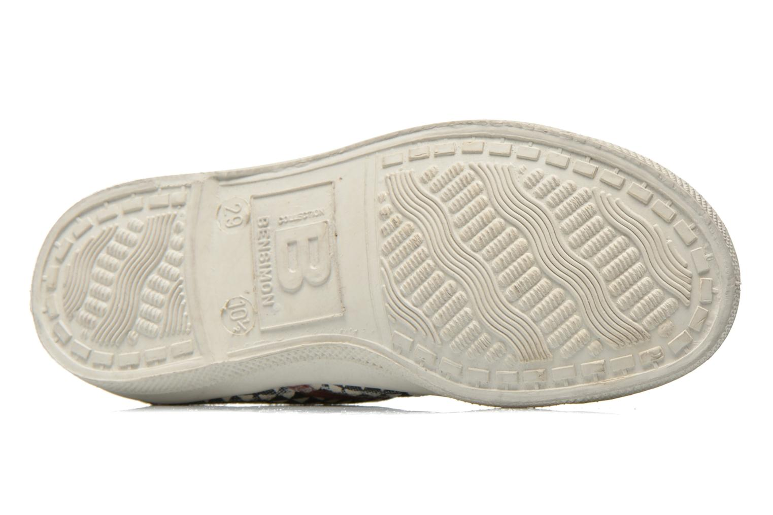 Trainers Bensimon Tennis Milk E Black view from above