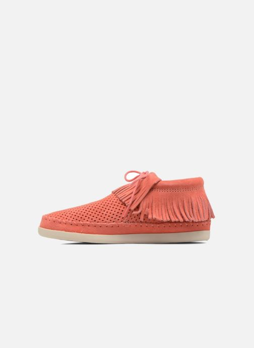 Bottines et boots Minnetonka Venice Perf Orange vue face