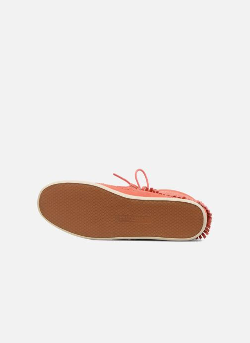 Bottines et boots Minnetonka Venice Perf Orange vue haut
