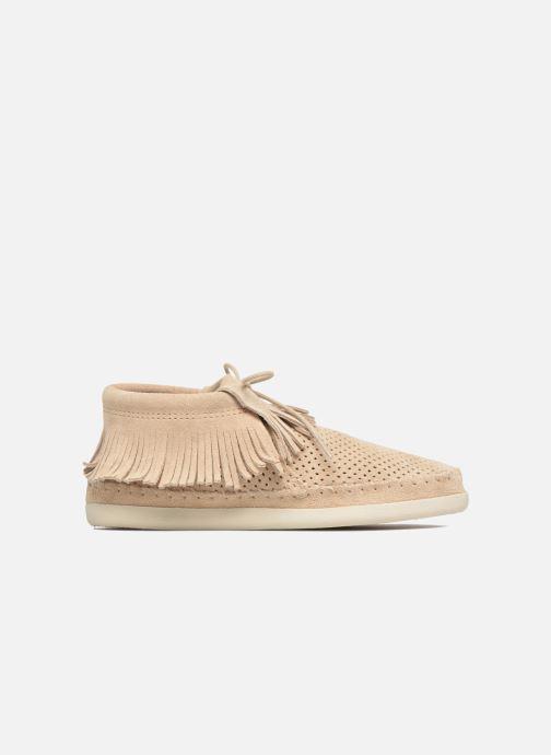 Stiefeletten & Boots Minnetonka Venice Perf grau ansicht von hinten