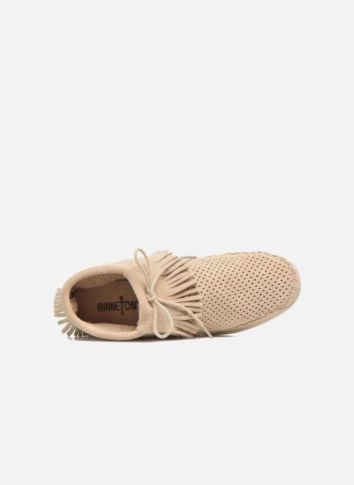 Stiefeletten & Boots Minnetonka Venice Perf grau ansicht von links