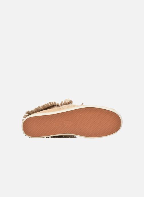 Stiefeletten & Boots Minnetonka Venice Perf grau ansicht von oben