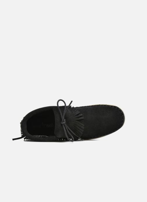Bottines et boots Minnetonka Venice Noir vue gauche