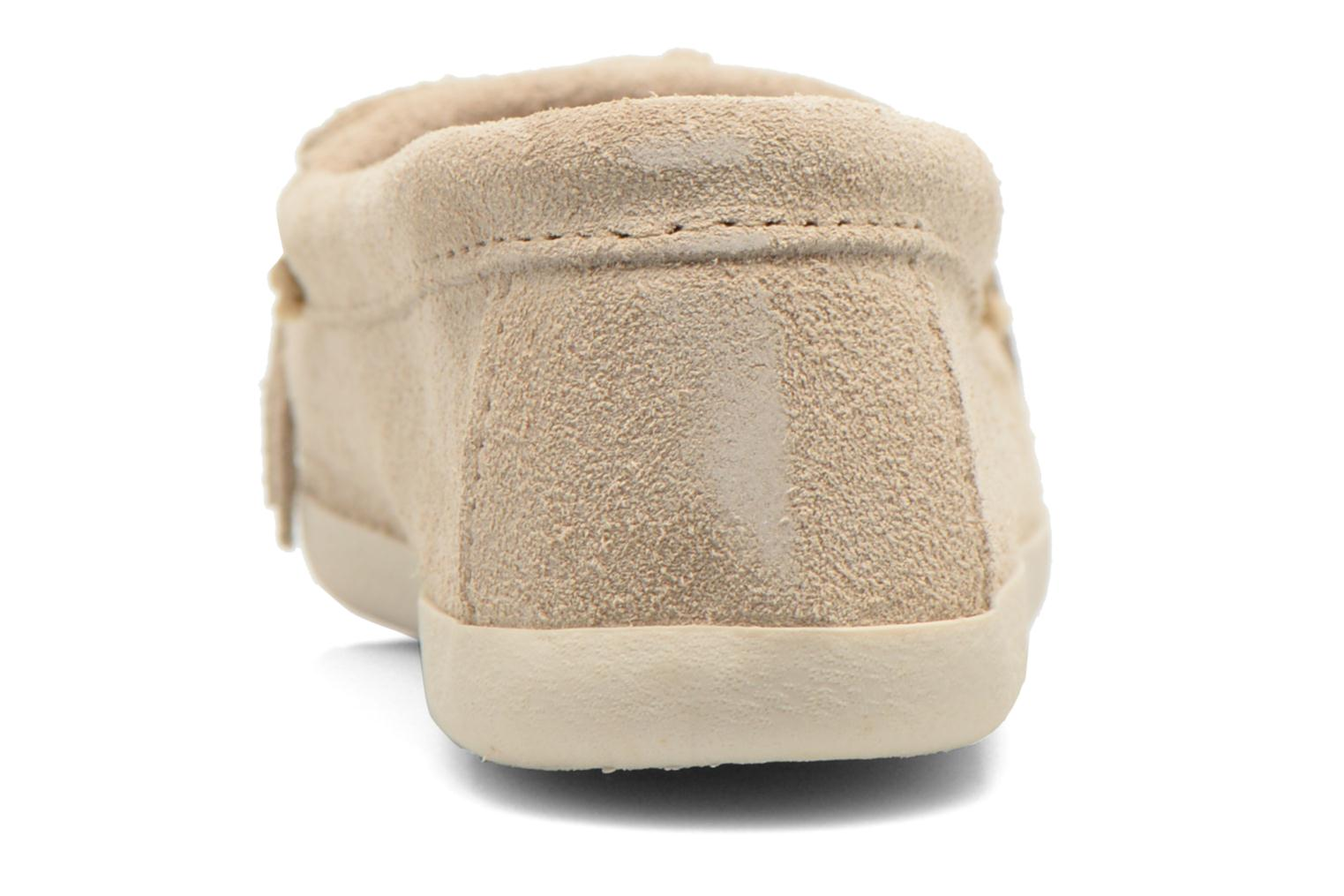 Loafers Minnetonka Newport Moc Beige view from the right