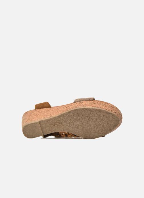 Sandalen Minnetonka Poppy Bruin boven