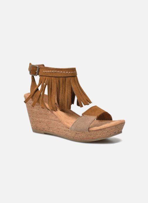 Minnetonka Poppy (braun) - Sandalen bei Más cómodo