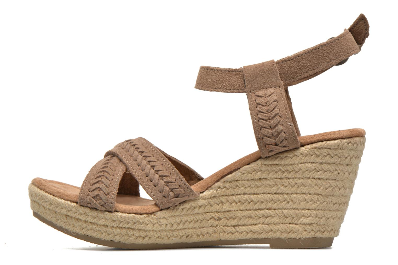 Sandaler Minnetonka Naomi Beige bild från framsidan