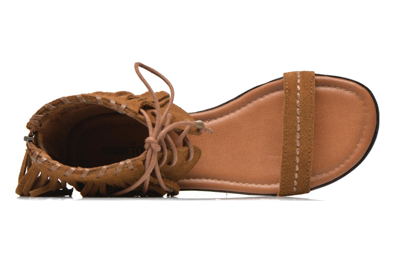Sandales et nu-pieds Minnetonka Havana Marron vue gauche