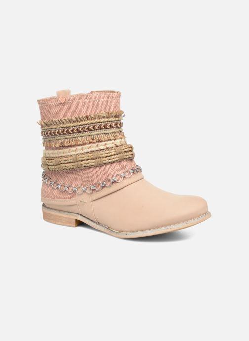 Bottines et boots Bullboxer Nadoco Beige vue détail/paire