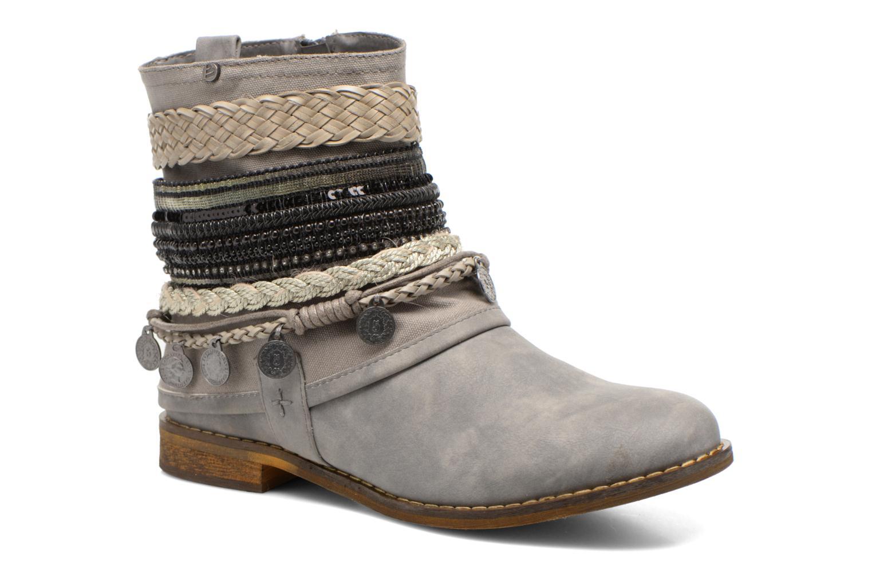 Bottines et boots Bullboxer Nadoco Gris vue détail/paire