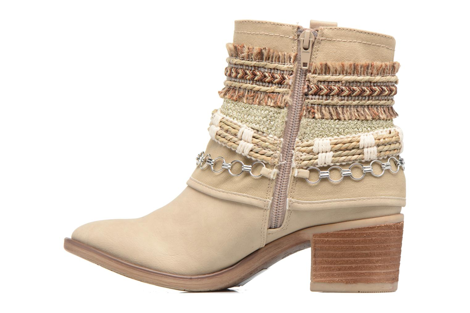 Ankle boots Bullboxer Morano Beige front view