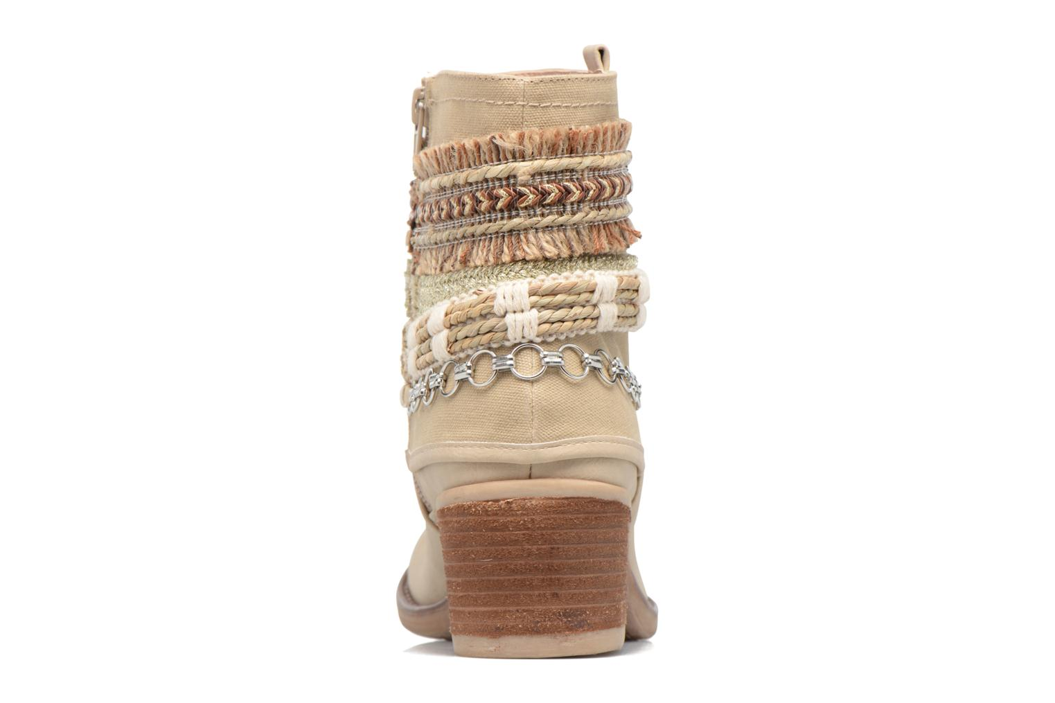 Ankle boots Bullboxer Morano Beige view from the right